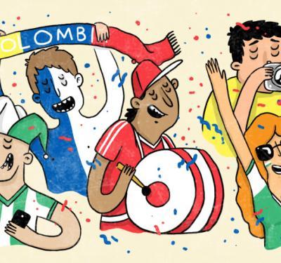 el fútbol sin hinchada es como bailar sin música