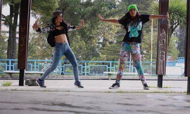 B-girls Nalin and K-Rose