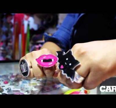 Pastel Goth: calaveras tiernas y murciélagos rosados